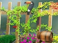 Флеш игра Секреты в саду: Скрытые предметы