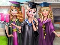 Флеш игра Селфи принцесс на выпускном
