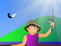 Флеш игра Семиднвеная рыбалка