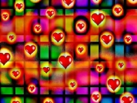 Флеш игра Сердечки: Пазл