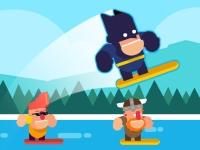 Флеш игра Серфинг на волнах