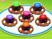 Флеш игра Сериз Худ угощает шоколадными крендельками