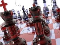 Флеш игра Шахматная доска: Пазл