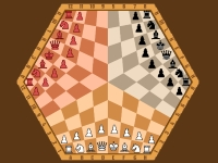 Флеш игра Шахматы на Двоих или на Троих