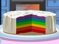 Флеш игра Шестицветный торт