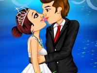 Флеш игра Шикарная новогодняя свадьба