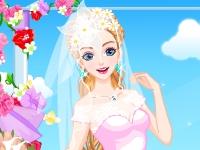 Флеш игра Шикарный наряд для невесты