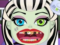 Флеш игра Школа монстров: Зубные проблемы