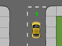 Флеш игра Школа вождения такси