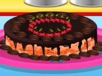 Флеш игра Шоколадный торт