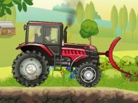 Флеш игра Сила трактора 2