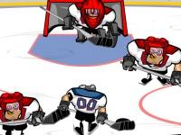 Флеш игра Силовой хоккей