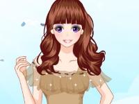 Флеш игра Симпатичная девушка на пляже