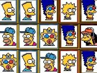 Флеш игра Симпсоны: Коннект