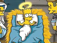Флеш игра Симпсоны: Поиск монет