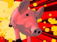 Флеш игра Симулятор бешенной свиньи