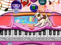 Флеш игра Симулятор фортепиано
