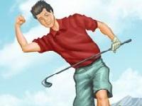 Флеш игра Симулятор гольфа