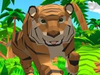 Флеш игра Симулятор тигра 3D