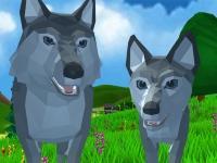 Флеш игра Симулятор волка
