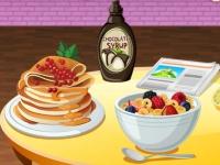 Флеш игра Сиси готовит завтрак