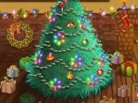 Флеш игра Сиси и Тото украшают елку