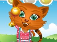 Флеш игра Сиси на выставке кошек
