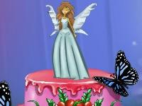 Флеш игра Сказочный торт