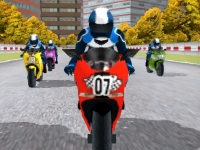 Флеш игра Скоростная гонка на мотоциклах