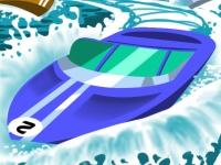 Флеш игра Скоростные лодки