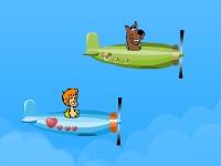 Флеш игра Скуби Ду: Молниеносный полет