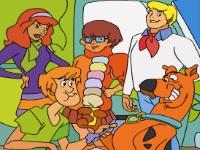 Флеш игра Скуби Ду и друзья: Пазл