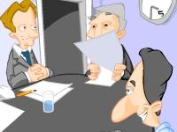 Флеш игра Скучное совещание