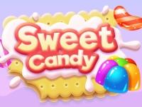 Флеш игра Сладкие конфетки в ряд