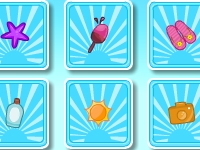 Флеш игра Сладкий летний тест на память
