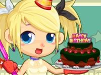 Флеш игра Слей готовит тортик