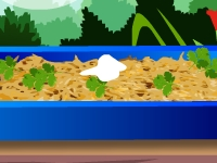 Флеш игра Сливочное запеченное буррито