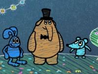 Флеш игра Слон мышь и заяц: Три в одном