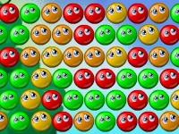 Флеш игра Смайлики-пузырики