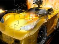 Флеш игра Смертоносный автомобиль: Пазл