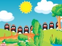 Флеш игра Смешарики: На скорость