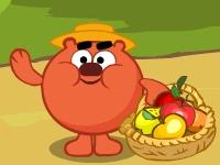 Флеш игра Смешарики: Сбор урожая
