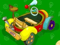 Флеш игра Смешарики: Собери пиномобиль