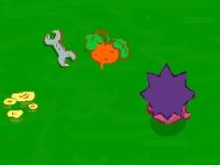 Флеш игра Смешарики: Запасы Ёжика