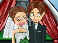 Флеш игра Смешная свадьба