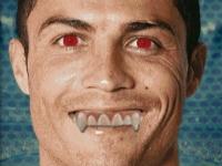 Флеш игра Смешное лицо Роналду