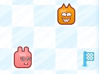 Флеш игра Смешные кролики