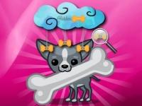 Флеш игра Смешные собаки: Найди кости