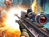 Флеш игра Снайпер и зомби