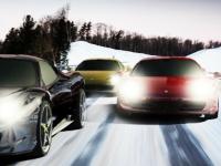 Флеш игра Снег и скорость